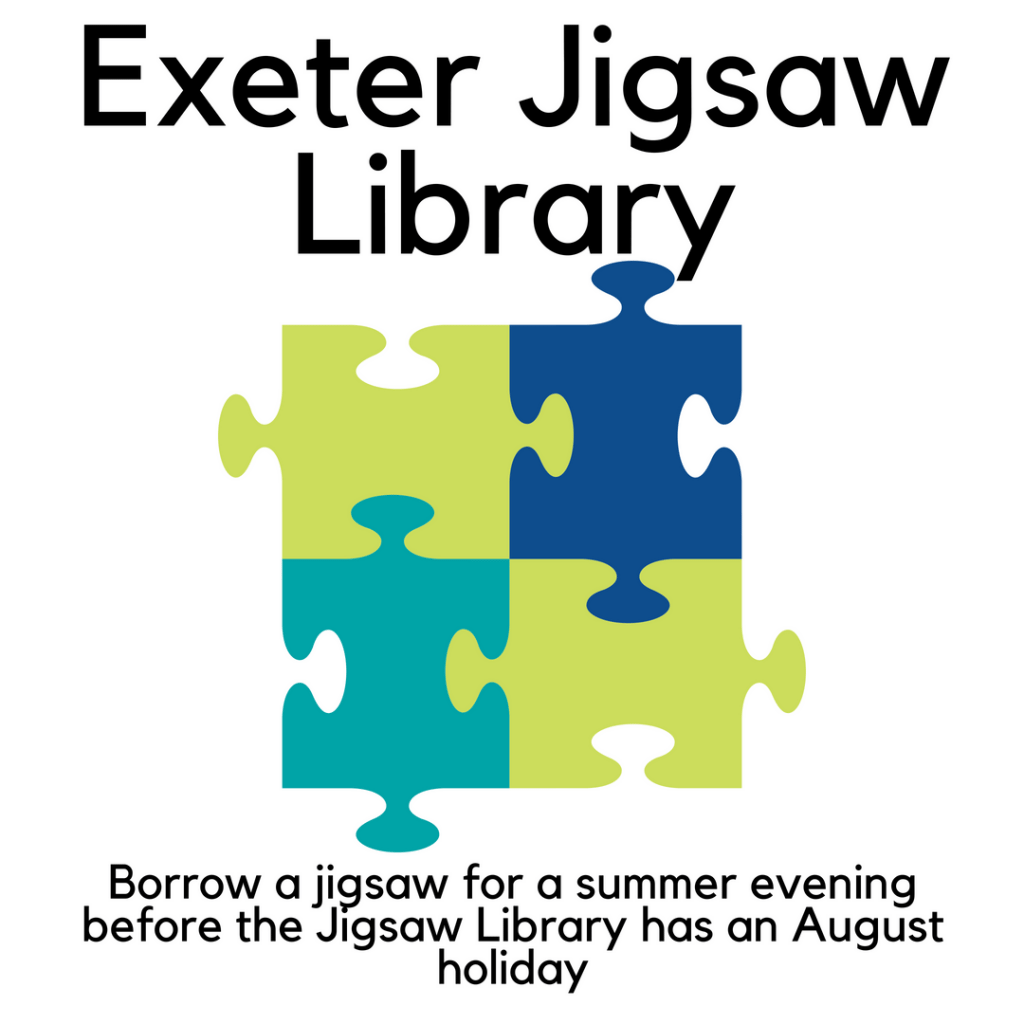 Grab a puzzle before the Jigsaw Library begins its holiday